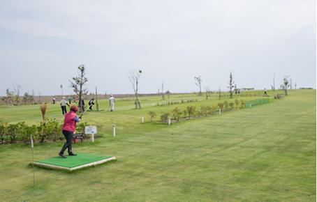 富山新港元気の森公園 パークゴルフ