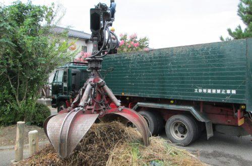 月収27万円以上可能!<br>掴み付 トラックで 木くずの回収 ドライバー